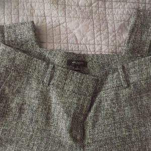Ann Taylor Black & White Tweed Trousers